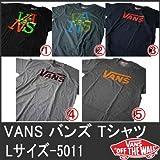 (バンズ)VANS 半袖T LサイズD 5011