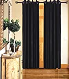 Gaurav Curtains 3 Piece Polyester Door Curtain - 7 ft, Multicolor