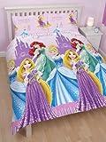 "Character World Double ""Disney Princess Sparkle"" Rotary Duvet Set"