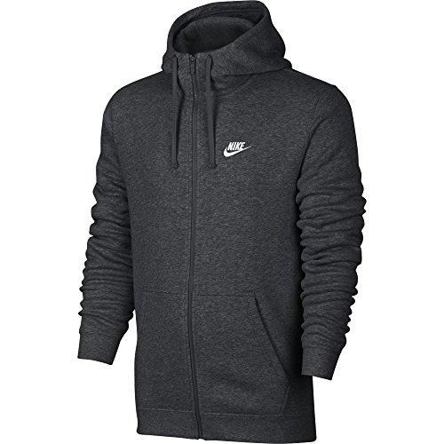 nike-mens-sportswear-full-zip-club-hooded-sweatshirt-charcoal-heather-white-804389-071-size-x-large