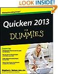 Quicken 2013 For Dummies