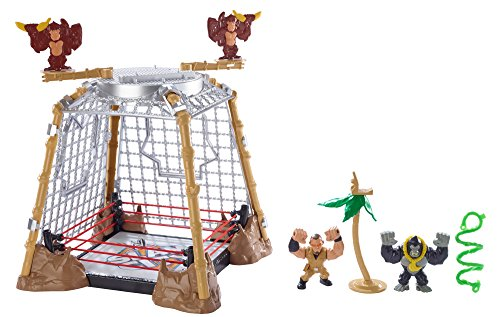 WWE Slam City Gorilla in a Cell Match Playset (Wwe Rumblers Steel Cage compare prices)