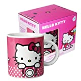 HELLO KITTY PORCELAIN MUG - PINK