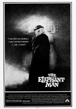 THE ELEPHANT MAN - US MOVIE FILM WALL POSTER - 30CM X 43CM