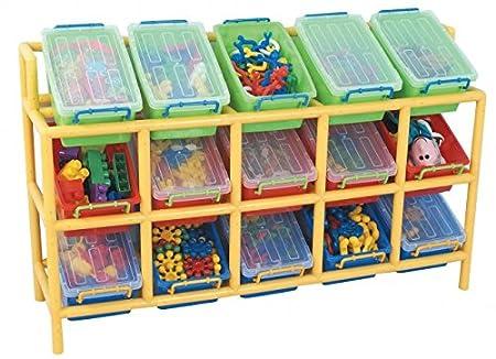 15 Bin Tilt Storage