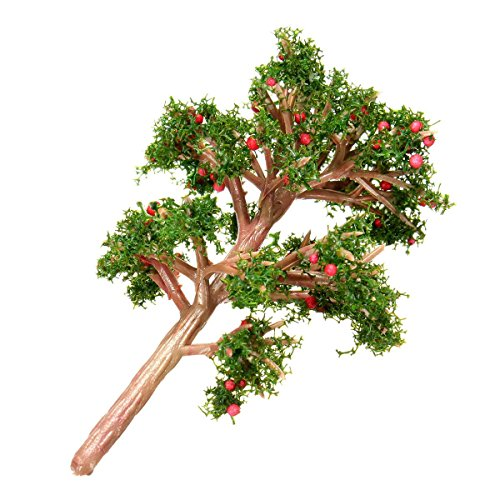 KINGSO Miniature Emulation Apple Tree Moss Bonsai Micro Landscape DIY Craft Garden Ornament