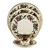 Lenox Holiday Tartan Gold-Banded 5-Piece Place Setting, Service for 1