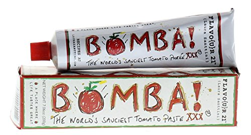 Bomba! XXX Tomato Bomb Puree Paste from Laura Santtini Triple Concentrate With Red Wine and Vegetables (Tomato Puree Concentrate compare prices)
