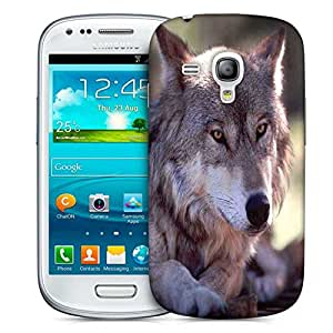 Snoogg Abstract Dog Designer Protective Phone Back Case Cover For Samsung Galaxy S3 Mini