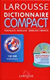 Larousse Dictionnaire Compact Francais Anglais Anglais Francais: Larousse Concise Dictionary French English English French (2035400406) by Larousse