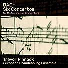 Bach : 6 Concertos brandebourgeois. Pinnock.