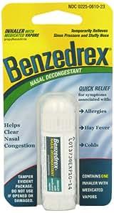 Benzedrex Nasal Decongestant Inhaler (Pack of 3)