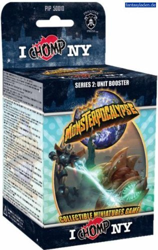 Monsterpocalypse Collectible Miniature Game Unit Booster Pack Series 2 Chomp NY