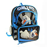 Disney Frozen Olaf 16 Backpack with Removable Lunchpack-chill Out!