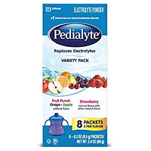 Amazon Com Pedialyte Powder Pack Variety 0 3 Ounce 8