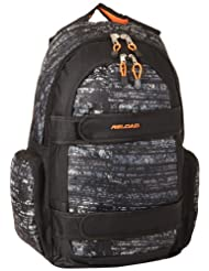Reload Skateboard Strap Backpack Orange