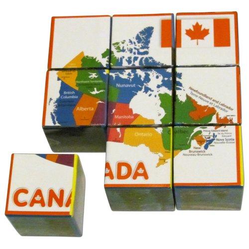 Canada Puzzle Cubes