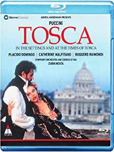 Puccini: Tosca- In the Settings and at the Times of Tosca [Blu-ray] [2013] [Region Free] from Warner Classics