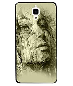 Fuson 2D Printed Designer back case cover for Xiaomi Mi 4 - D4584