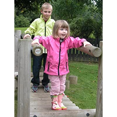 Childrens Waterproof Jacket Mac in Sac Instant Jacket