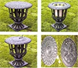 CAST IRON CANDLE HOLDER/ PLANTER/ SUNDIAL STAND