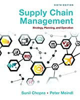 Supply Chain Management: Strategy, Planning, and Operation, 6th Edition Front Cover