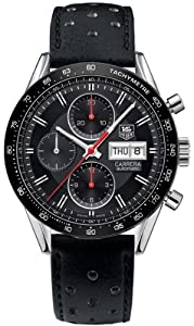 NEW TAG HEUER CARRERA DAY DATE MENS WATCH CV201H.FC6233