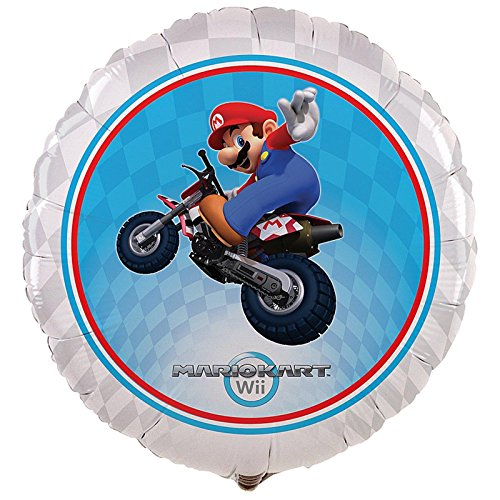 "Mario Kart Wii 18"" Foil Balloon"