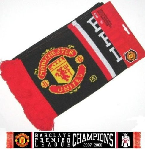 Manchester United FC - Official Premier League Champions Scarf