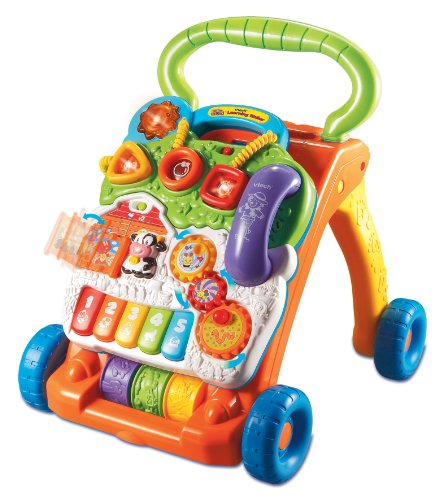 5189RuYjGaL Reviews   Vtech   Sit to Stand Learning Walker
