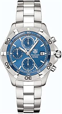 TAG Heuer Men's CAF2112.BA0809 2000 Aquaracer Automatic Chronograph Watch