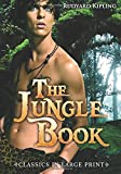 img - for The Jungle Book - Large Print (Classics in Large Print) book / textbook / text book