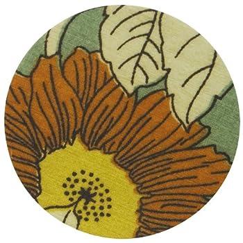Aqua Bloom Floral Coaster Set