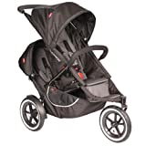 5189UlH1mYL. SL160  Phil & Teds C7KIT Classic Stroller with Double Kit   Black