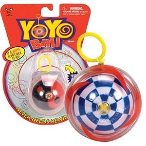 Yo-Yo Ball (Assorted Colors and Patterns)