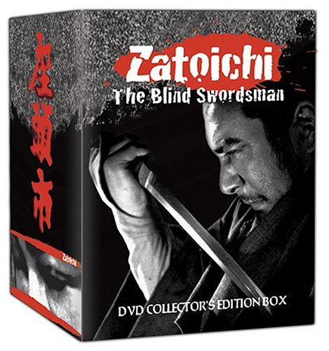 Zatoichi - The Blind Swordsman DVD Collector's Edition Box
