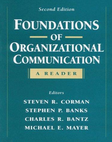 foundations-of-organizational-communication-a-reader