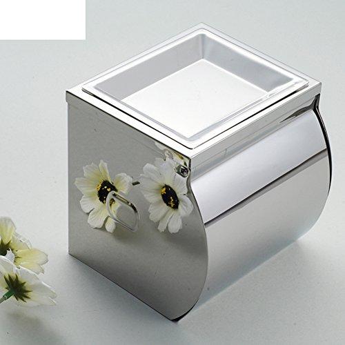 accessori da bagno in acciaio inox/vassoio Salute/Tissue Box/cassetto carta igienica impermeabile/portarotolo/con posacenere