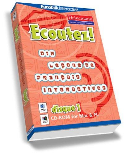 Ecoutez Bien! Ten Interactive French Lessons 1 (PC/Mac)
