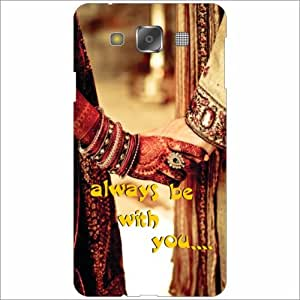 Samsung Galaxy E5 Back Cover - Silicon Always Be With You Designer Cases