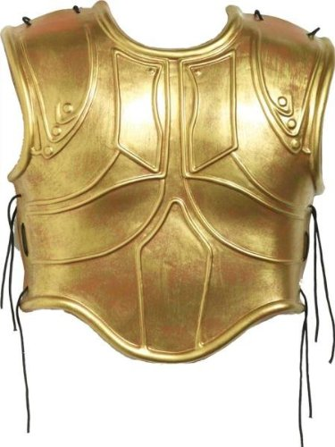 Costumes for all Occasions FM66647 Roman Armor Chest 2 Pc Set