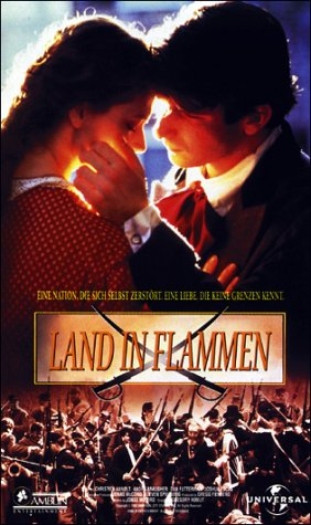 Land in Flammen [VHS]