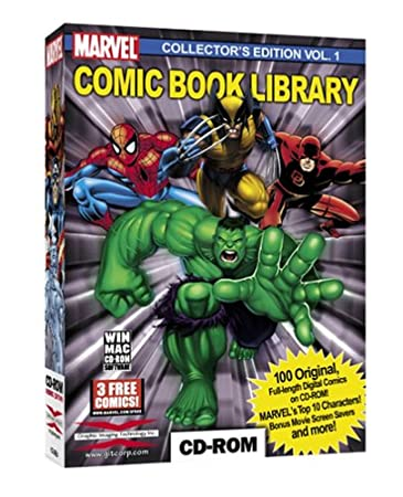 Marvel Comic Book Library Vol. 1