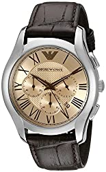 Emporio Armani Analog Silver Dial Mens Watch - AR1785