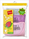 Hanes Girls Assorted T-shirts (3-Pack)