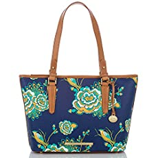 Medium Asher Tote<br>Navy Belize