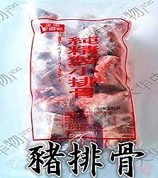 精製小排骨パイコツ パーコー 1000g排骨 猪肉 あばら肉 生 パイコツ スペアリブ 豚肉の切り身 味付けなし実店舗で大人気 冷凍のみの発送,クール便で1個口として+300円の冷凍料は加算されます