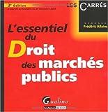 echange, troc Frédéric Allaire - L'essentiel du droit des marchés publics