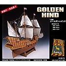 木製帆船模型 海賊船1/50ゴールデンハインド(w)  p-6613