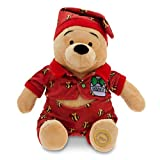 Disney Winnie the Pooh Plush - Holiday Pajamas - 12''